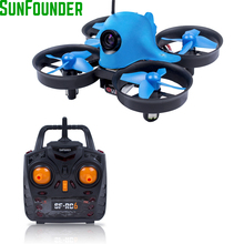 SunFounder Eshark Mini Quadcopter Remote Control 2.4G 4CH Dron Quadcopter with Camera HD 600TVL Video Drone RC Helicoters(China)