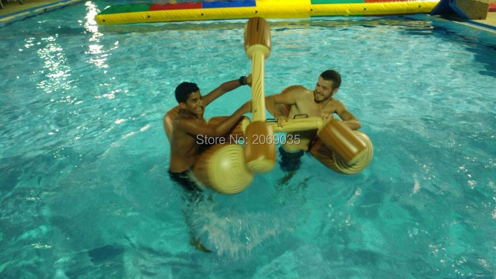 HTB1sqWkRpXXXXcfapXXq6xXFXXXK - 4 Pieces/set Joust Pool Float Game Inflatable Water Sports Bumper Toys For Adult Children Party Gladiator Raft Kickboard Piscina