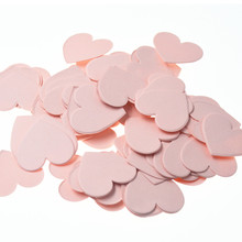 Pink Heart Confetti /Party Decoration /Table Decor Paper Confetti Glitter Confettis Event & Party Supplies Baby Shower
