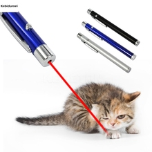 Kebidumei Red Laser Pointer Pen Beam Light 5mW Ultra High Power for Targets on Monitor Screen for PPT Powerpoint Presentation(China)