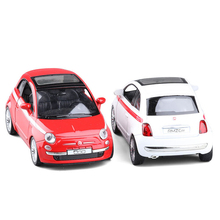 RMZ City 500 1:36 Toy Vehicles Alloy Pull Back Mini Car Replica Authorized By The Original Factory Model Toy Gift Collectio(China)