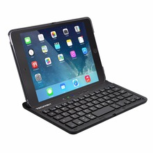 TeckNet Protective Case with Integrated Wireless Bluetooth Keyboard case, Auto Sleep / Wake & Adjustable Stand for iPad Mini 4