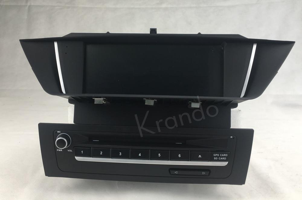 Krando bmw X1 E84 2009-2013 Android car radio gps dvd player navigation multimedia system (2)
