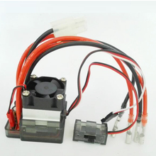 Register shipping 1pcs 7.2V-16V 320A Voltage ESC Brushed Speed Controller with fan for RC Car Truck Buggy Boat Wholesale(China)