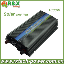 Grid-Tie 1000W Pure Sine Wave Inverter, DC10.5V~28V, AC 90V-140V/180V~260V,50Hz or 60Hz, for Input PV Power 1200W,Free shipping(China)