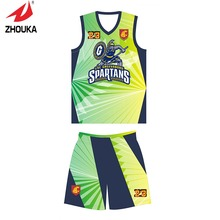 Unique Design for you Zhouka basketball uniforms custom any logo and pattern