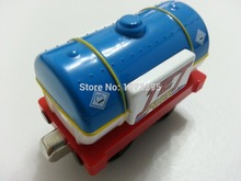 Thomas & Friends Metal Jet Fuel Tanker Blue Magnetic Toy Train Loose Brand New In Stock & Free Shipping(China)
