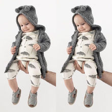 Toddler Baby Boy Girl Umbrella Romper Jumpsuit Outfits Clothes Playsuit