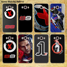 jorge lorenzo lorenzo 99 Logo red X design clear transparent hard Case for Samsung galaxy J7 2016 J5(2017) J3 J2 J1 2016