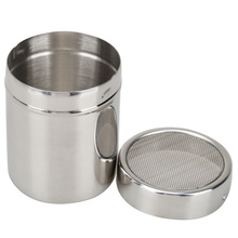 Size L Spill Coffee Mug Espresso maker Grinder Baskets Coffee Sifter Filter Chocolate Coffee Powder Shaker Spice(China)