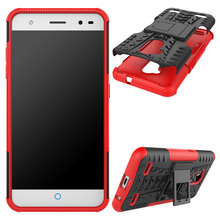 Hybrid Rugged TPU Silicone Hard Case ZTE V7 Lite Tough Rubber Shockproof Impact Cover Blade Lite/Blade V6 Plus/A2 - elephonecase store