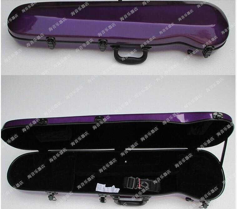 purple  color  New  Case  fro Erhu fiddle  Glass Fiber Light Durable Black White Blue Red    Erhu fiddle<br><br>Aliexpress