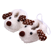 Winter Baby Warm Soft Fur Boots Kid Toddler Newborn 5D Cartoon Short Sock Coral Fleece Slipper Shoes
