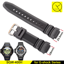 Replacement Strap for Casio dw5600 Bracelet Pin Buckle Soft Silicone Rubber AE-1000w AQ-S810W Sport Watch Accessories+Free Tools(China)