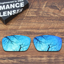 561d966a9d ToughAsNails Polarized Replacement Lenses for Oakley Fuel Cell Sunglasses  Blue Mirrored (Lens Only)