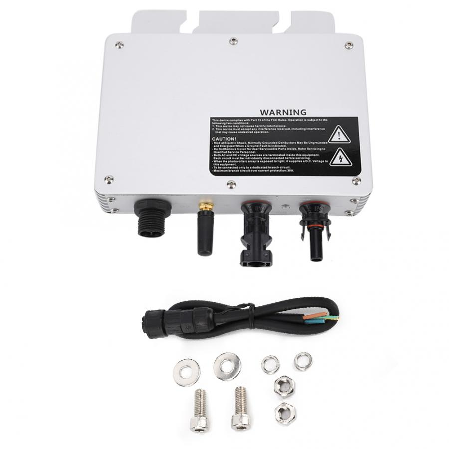 Solar Power Grid Tie Micro Inverter Voltage 80-160VAC//180-280VAC