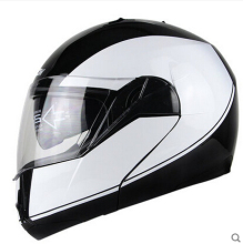 New Arrivals flip up motorcycle helmet with inner sun dual visor system racing motorcross helmet M L XL XXL