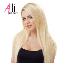 "Ali-Beauty #613 Straight Blonde Hair Bundles Human Hair Extensions Remy Hair Weft 18-24"" Weft Width 120-130cm(China)"