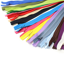 Long Invisible Zippers DIY Nylon Coil Zipper For Sewing Clothes Cushion Pillow Tailor Tool 40cm