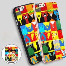 Dc Comic Heroes Custom Phone Ring Holder Soft TPU Silicone Case Cover for iPhone 4 4S 5C 5 SE 5S 6 6S 7 Plus