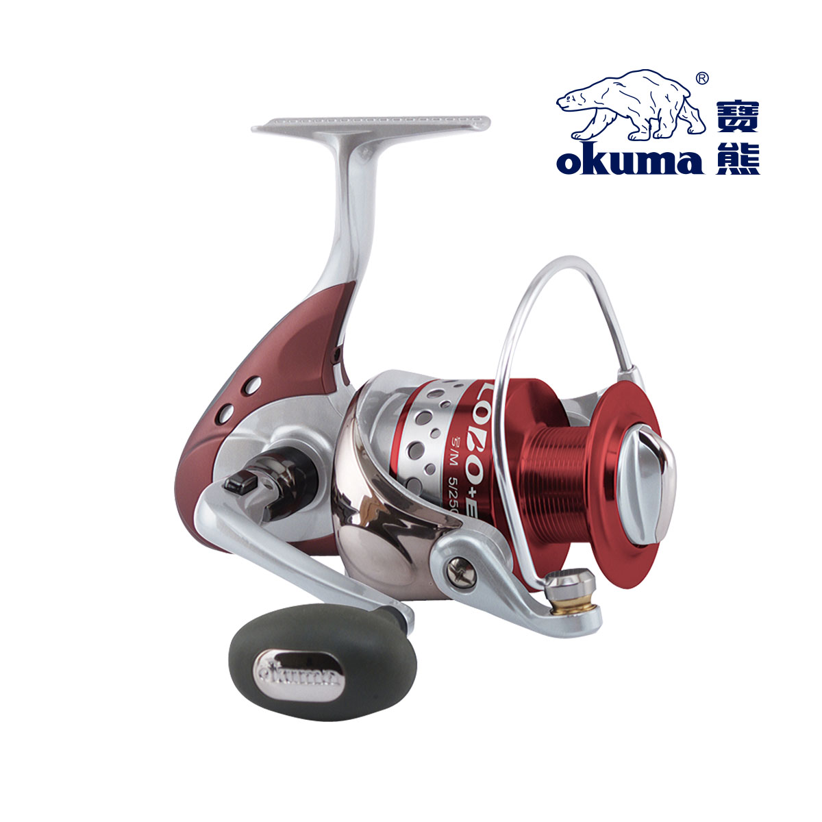 Fishing tackle okuma fishing tackle fishing vessel wheel spinning reel gray wolf loe-4000<br><br>Aliexpress