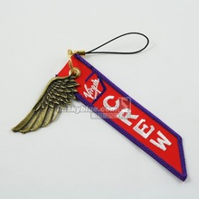 Virgin Airline   Luggage bag Tag with Metal Wing  Red & White Gift for Aviation Lover Flight Crew
