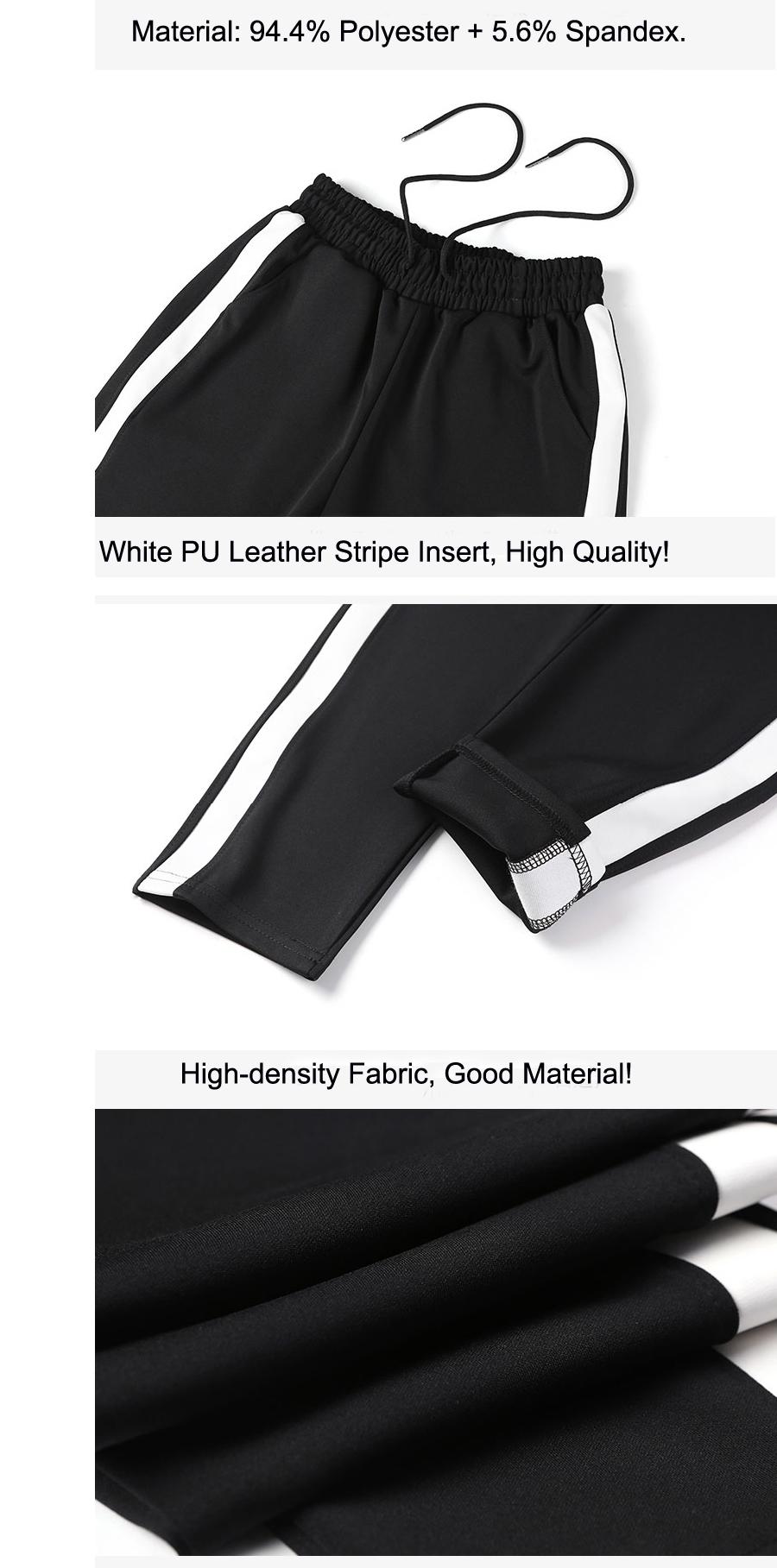 Mustad nööritavad dressipüksid