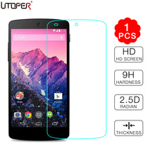 For LG Nexus5 Premium Tempered Glass Screen Protector Film for LG Google Nexus 5 E980 D820 D821 Front Screen Protective Guard