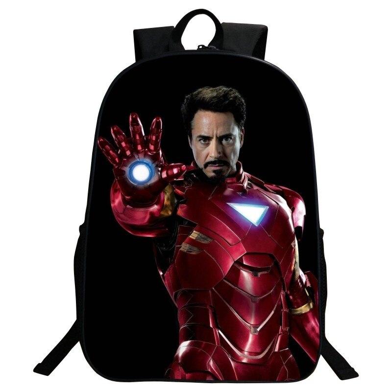 Wholesale 2017 Popular Polyester 16 Inch Prints Avengers Children Schoolbag Kids Baby Bags Children School Backpacks for Boys<br><br>Aliexpress