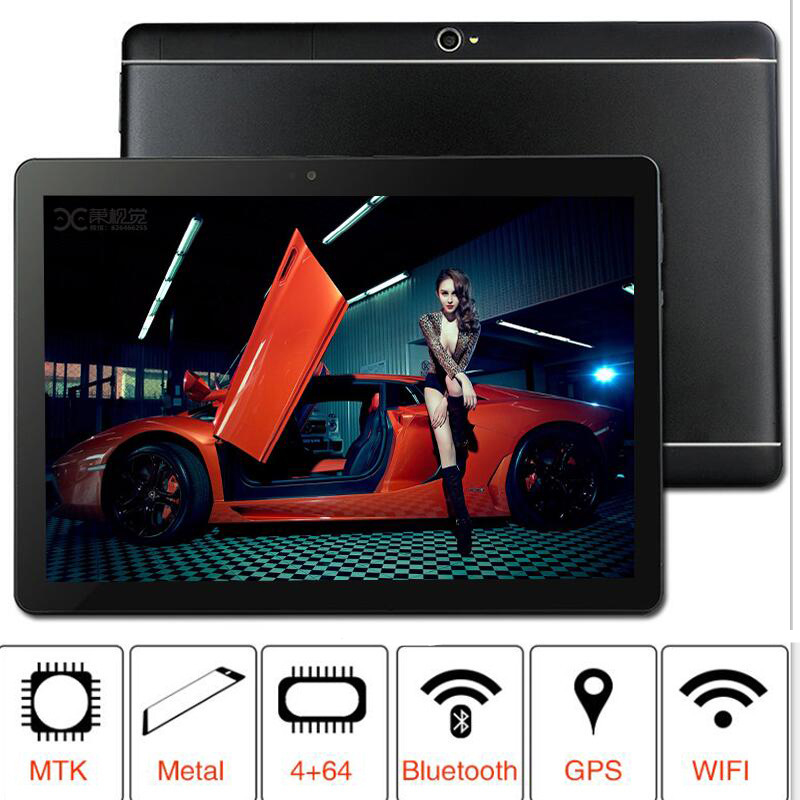 NEW 2019  MT8752 S109 64GB ROM 10.1' Tablets Android 8.0 8 Octa Core Dual Camera 8MP Dual SIM Tablet PC  GPS bluetooth phone(China)