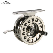 49.5mm 59mm Fly Fishing Reel with Aluminium Material BLD50 BLD60 Ice G-ratio 1:1 Right Handed Fly Fishing Wheel Fish Line Pesca(China)