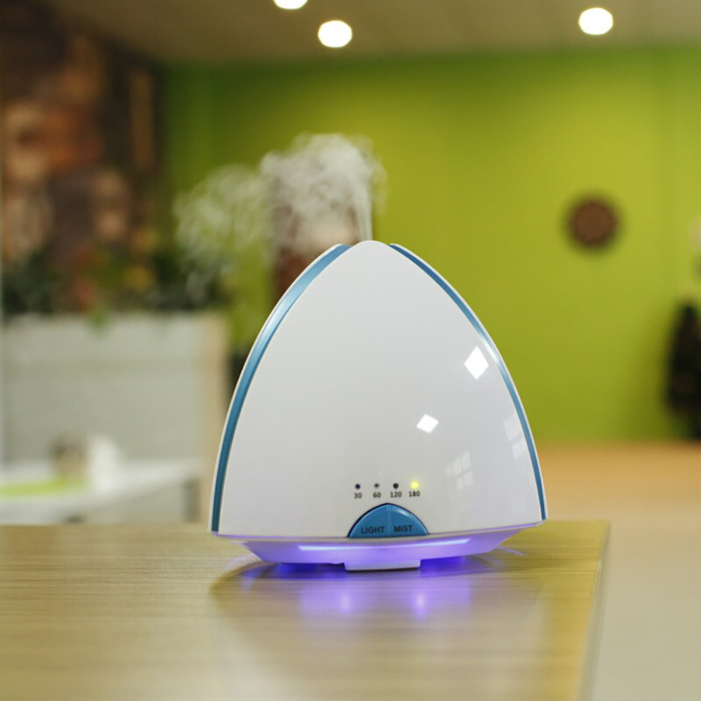 Pyramid Shape Aromatherapy Air Humidifier Aroma Diffuser Essential Oil Diffsuer Ultrasonic Humidifiers Home Office Mist Maker<br>
