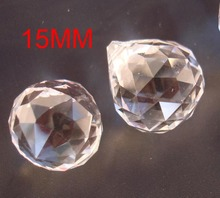 200pcs  15mm Glass chandeiler ball Crystal glass faceted ball Glass chandelier pendants decorative lighting decor