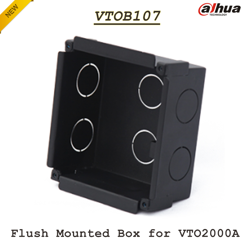 Brand Dahua VTOB107 Flush Mounted Box for VTO2000A Metal Bracket<br>