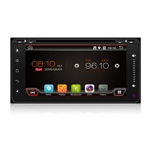 Free shipping Quad core 1024*600 HD 2 din Android car dvd player For Toyota auto radio double din