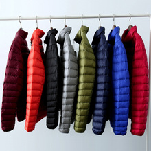Men Down Jackets Winter Men Jackets 90% White Duck Down Ultra Light Winter Down Coats Outwear