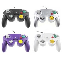 2 pcs Wired GameCube gamepad Controller Gaming Joypad Joystick For Nintendo Wii GC NGC Gamepad ABS Comfortable to Use(China)