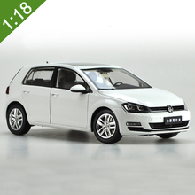 1:18 Volkswagen New Golf 7 Alloy Diecast Metal Car Model Original Car Toy For Kids Birthday Gifts Toy Collection Free Shipping(China)