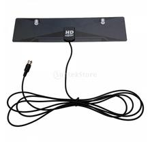 X-72 Digital Indoor HD TV Antenna HDTV DTV Box Ready HD VHF UHF Flat Design