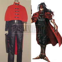 Anime Final Fantasy  Vincent Valentine Cosplay Costume Custom-Made