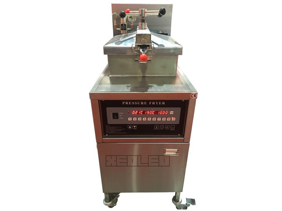 Gas computer pressure fryer (8)