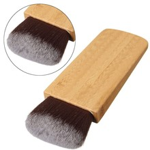 1Pcs New Makeup Brush Swirl Power Contour Bronzer Bamboo Handle Blush Cosmetic Foundation Synthetic Hair Beauty Tool