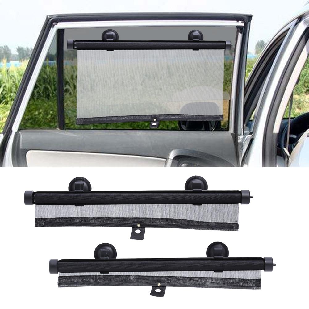 2 X CAR WINDOW SUN SHADE AUTO BLIND SCREEN PROTECTOR PROTECTION KIDS