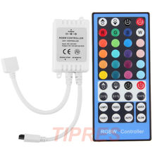DC12 - 24V 2A*4 Channel 40Key RGBW Led Controller Dimmer IR Remote Control For 5050 3528 RGB RGBW Led Flexible Strip Lamp