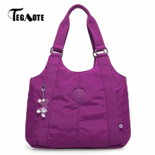 TEGAOTE Top-handle Bag Shoulder Luxury Handbags Women Bags Designer Nylon Female Beach Casual Tote Purse Sac Femme Bolsa Feminia