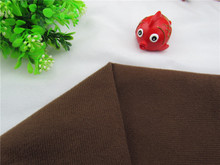 1 meter Coffe hook use fabric for DIY sewing Stuffed toy sofa furniture material Warp knitted brushed Plain Loop velboa velvet