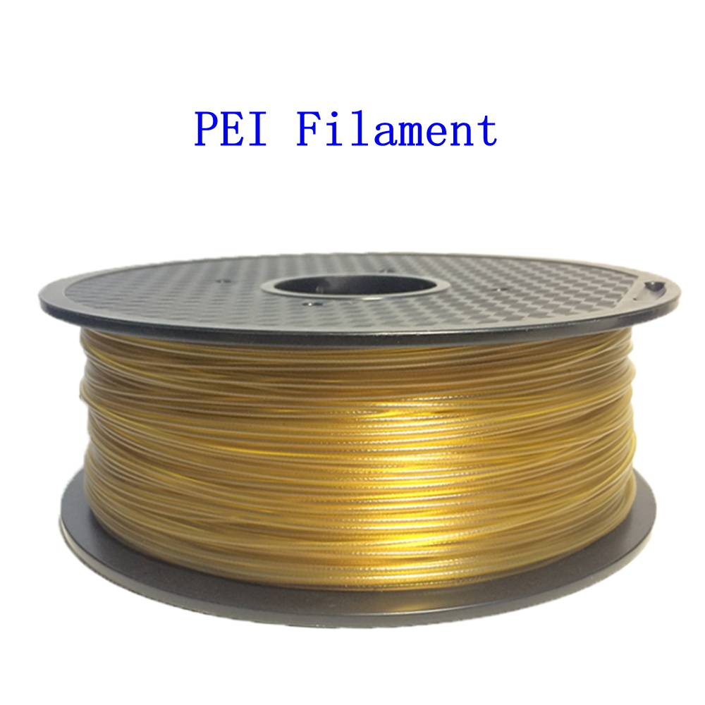 FLEXBED 3D Printer Filament,1.75mm PEI Ultem Filament,High-Precision Diameter Filament,0.5kg Spool,Natural Color