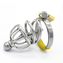 Buy 2017 New Small Male Chastity Cage Metal Cock Ring Cockring Penis Plug Urethral Sound Sex Toys Adult Toy Male G111