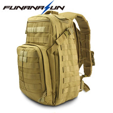 Tactical Rucksack Military Molle Backpack Travel Day Pack Waterproof Fishing   Hiking Camping Shooting Gear