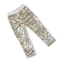 Girls Leggings Metallic Red Sequins leggings delicate and special girls pants girls gold sequin bottoms children's clothing